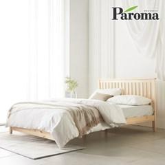파로마 로메오 소나무 원목 침대 퀸Q 6회전본넬매트포함