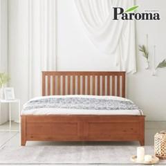 파로마 로메오 소나무 원목 침대 퀸Q 20T라텍폼스매트포함