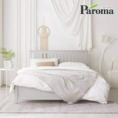 파로마 로메오 소나무 원목 침대 퀸Q 40T라텍폼스매트포함