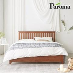 파로마 로메오 소나무 원목 침대 퀸Q 듀업탑매트포함