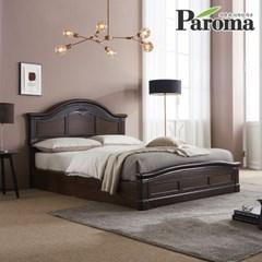 파로마 프린 클래식 평상형침대 퀸(Q) 인디파워 독립매트
