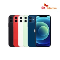[SKT][공시지원/완납]iPHONE_12_128G / 5GX플래티넘