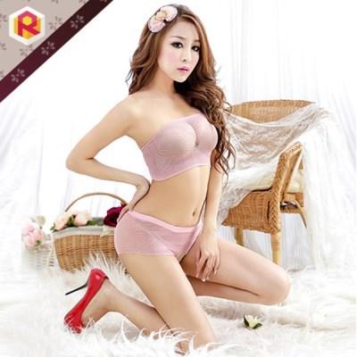 [더바붐샵] XL-032 핑크 섹시 란제리