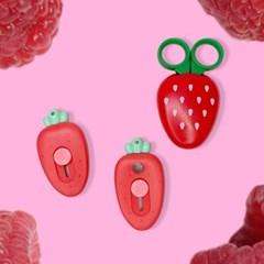 [맙소사잡화점] 딸기 커터 칼 당근 가위
