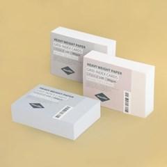 컬러 그리드 인덱스카드 100매  - 5x7
