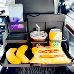 OMT 헤드레스트 뒷좌석 차량용테이블 접이식테이블 다용도수납가능