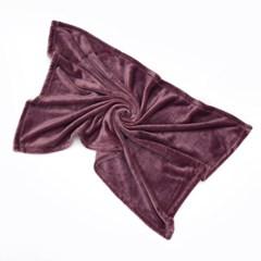 소프트 극세사 담요(70x100cm) (퍼플)/ 겨울 블랭킷