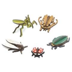 [모또 입체퍼즐] 미니 곤충 만들기 5종 set