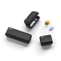 키보드 휴대용 미니 알약케이스 약통 3p set