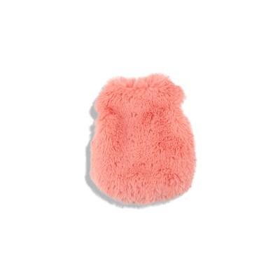 [monchouchou] Fur Vest Dumb Bear Edition Coral