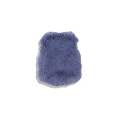 [monchouchou] Fur Vest Dumb Bear Edition Ash Blue