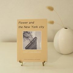 2021 FLOWER AND THE NEW YORK CITY 뉴욕 포토 캘린더
