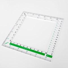 크로바 사각 게이지자 - 스웨터 뜨기 사방 사이즈 조절 필수품