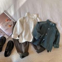 돌핀웨일 사선투포켓셔츠(70~140cm)