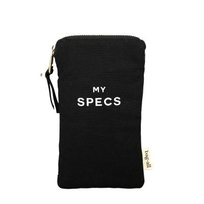 [백올] SPECS WITH POCKET BLACK GLASSES CASE