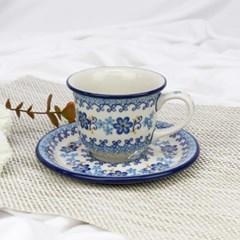 폴란드그릇 아티스티나 커피잔소서세트180ml 패턴2238