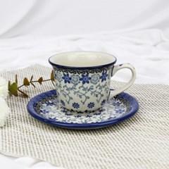 폴란드그릇 아티스티나 커피잔소서세트180ml 패턴2158