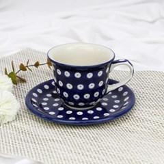 폴란드그릇 아티스티나 커피잔소서세트180ml 패턴70a