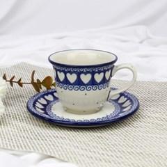 폴란드그릇 아티스티나 커피잔소서세트180ml 패턴375m