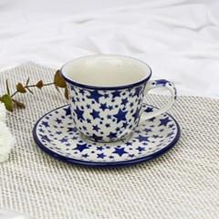 폴란드그릇 아티스티나 커피잔소서세트180ml 패턴359a
