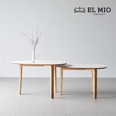 [엘미오] 블랑 쇼파 테이블 450
