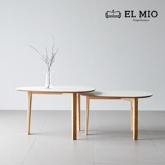 [엘미오] 블랑 쇼파 테이블 500