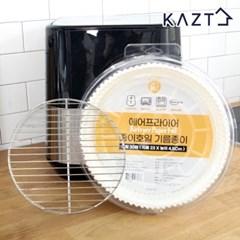 에어프라이어 종이호일 대형 30매(23x4.5Cm)+거름망L