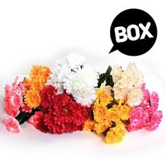 BOX판매 12대 국화 12개 성묘 산소 꽃 납골당 조화_(2276443)
