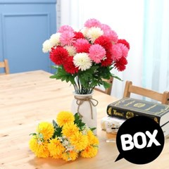 BOX판매 롱팜팜 12개 성묘 산소 꽃 납골당 조화_(2276441)