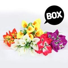 BOX판매 카라 12개 성묘 산소 꽃 납골당 조화_(2276432)