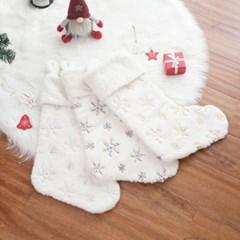 산타 화이트 대형양말 크리스마스 선물주머니