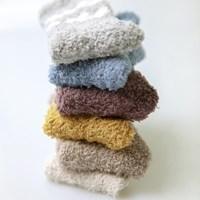 [무료배송] 스트라이프 수면양말 3족 세트 (색상 선택 가능)