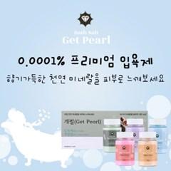 개펄(Get Pearl) 바스솔트 입욕제 500g / 프리미엄 소금 입욕제