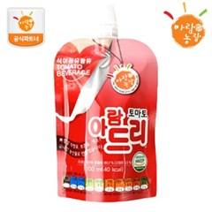 [아람농장] 국내산 생과일주스 아람드리 토마토맛 1팩(1