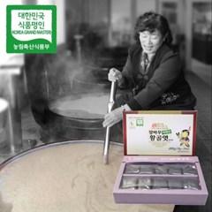 장바우 치악산 황골엿 흑미엿 400g/선물세트