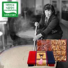 장바우 치악산 황골엿 2색엿 4.5kg/선물세트