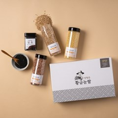 황금눈쌀 프리미엄 잡곡4종 선물세트 5호 (기장 찰수수 귀리쌀 서리