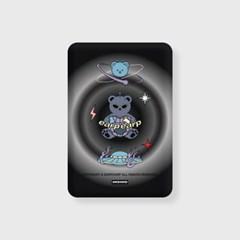 Space night bear-black(무선충전보조배터리)_(1725167)