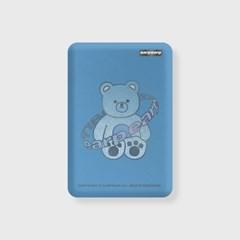 Twinkle gem bear-blue(무선충전보조배터리)_(1725159)