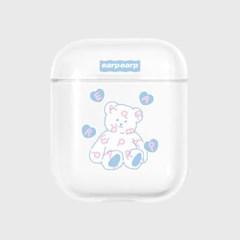 Soft bear-clear(Air pods)_(1724744)