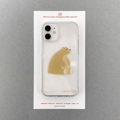 PHONE CASE. Gold bear