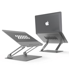 노트북 거치대 휴대용 알루미늄 태블릿 맥북 거치대_(2422854)