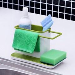 OMT 주방 싱크대 수세미 선반 소품 수납 정리함 욕실용품
