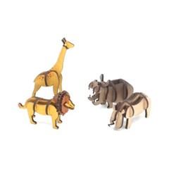 [모또 입체퍼즐] 교과서에 나오는 동물시리즈2