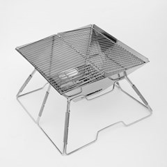 윌캠핑 접이식 석쇠 화로대(31x31cm) / 바비큐그릴