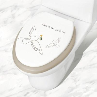 아모르 소프트 변기커버 O형 중형 특대 욕실인테리어