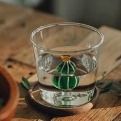 이태리 명품 이첸도르프 선인장 텀블러컵 앰버플라워_(1828960)