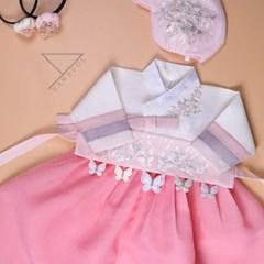 한설한복1734.S 가성비갑 여아들이픽한 핑크여아한복