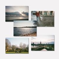 유럽 사진 엽서 5종