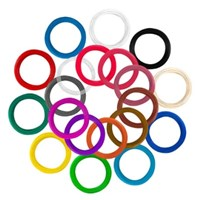 에코마음 3D펜 저온필라멘트 PCL필라멘트 5M 10색묶음